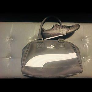 Puma bag and sneakers